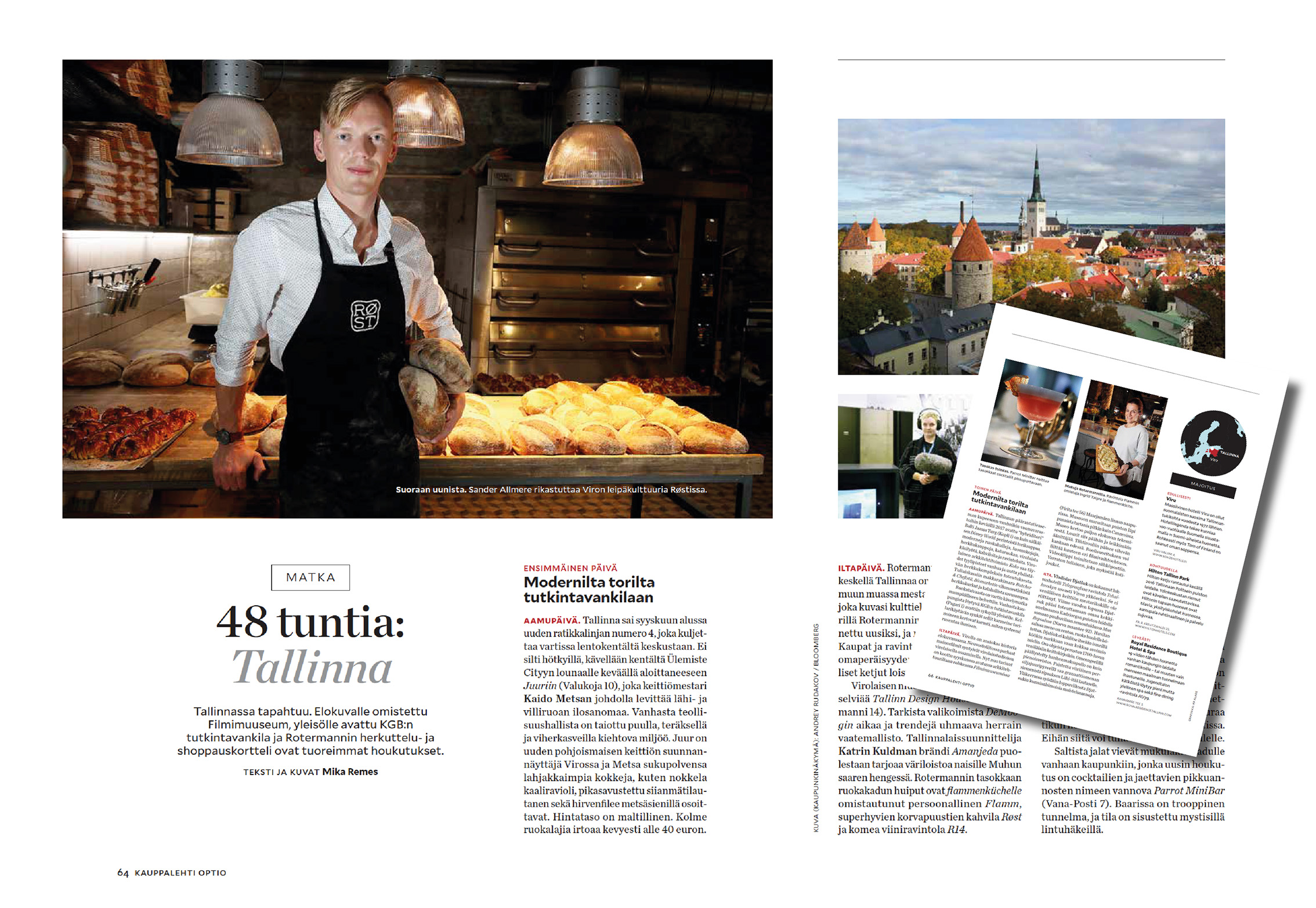Optio-magazine 2017 | Travel feature | 48 h Tallinn