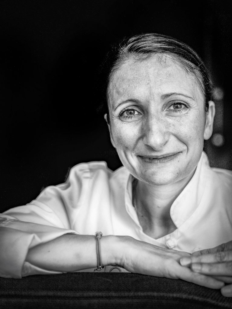 Chef Portraits | Three Michelin star chef Ann-Sophie Pic | Valence, France 2008