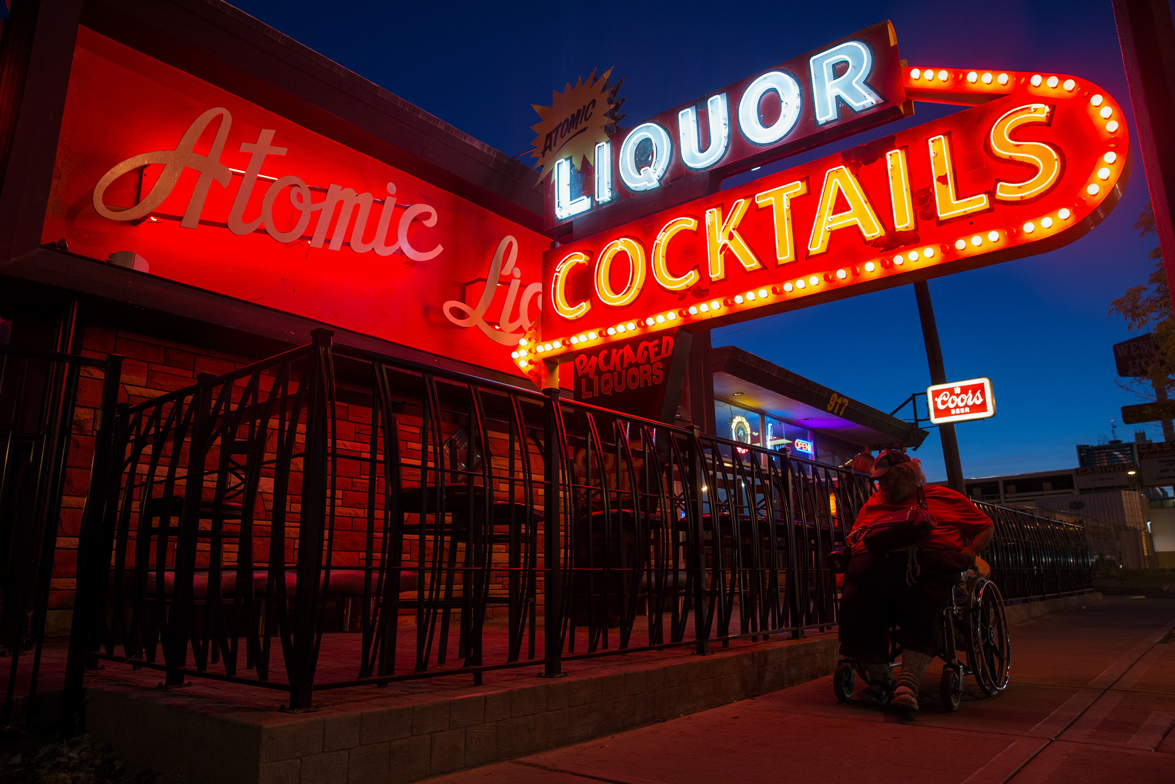 Illustrations | Atomic Liquor Cocktails, Las Vegas