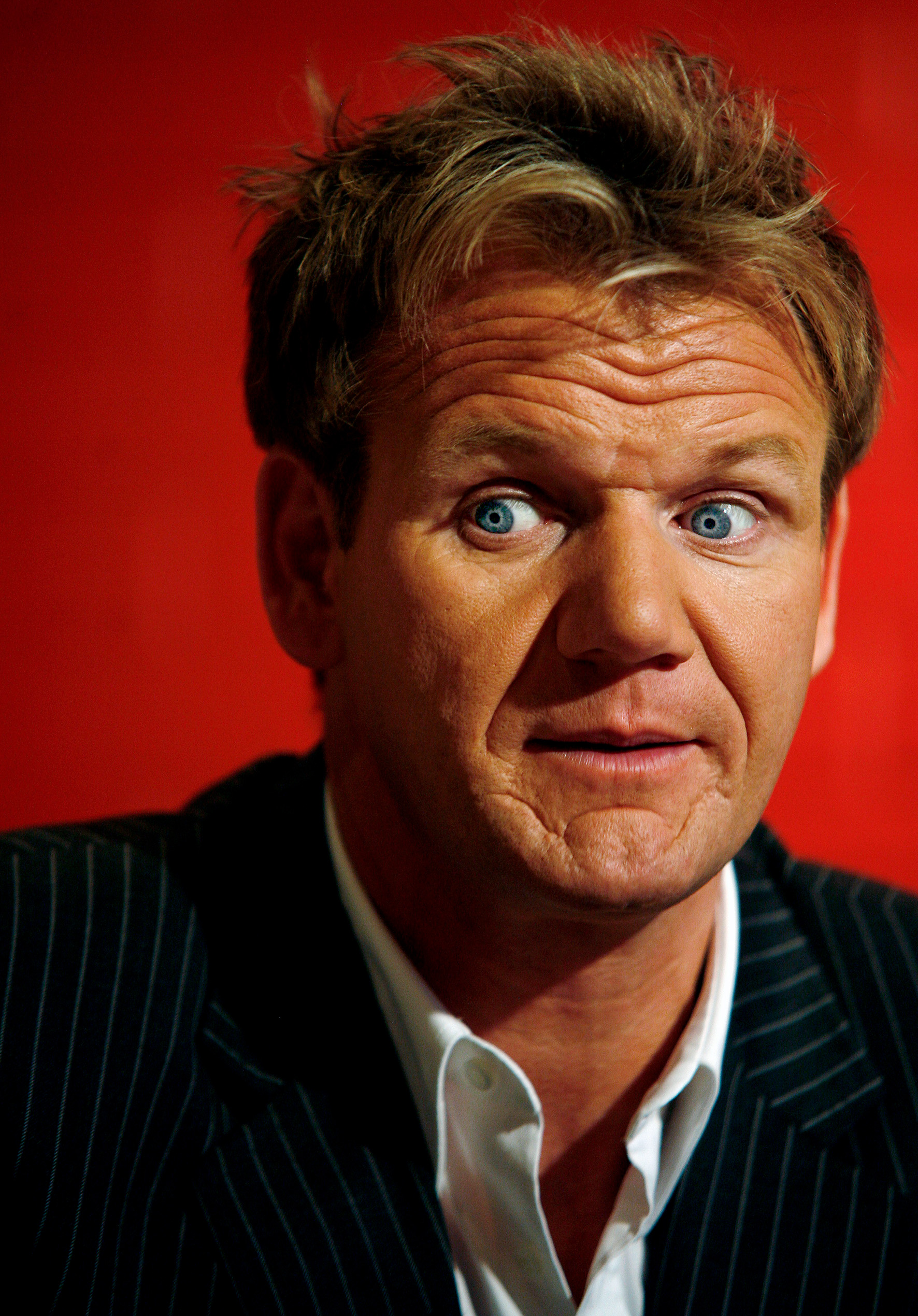 Chef Portraits | Celebrity chef Gordon Ramsay | Helsinki, 2007