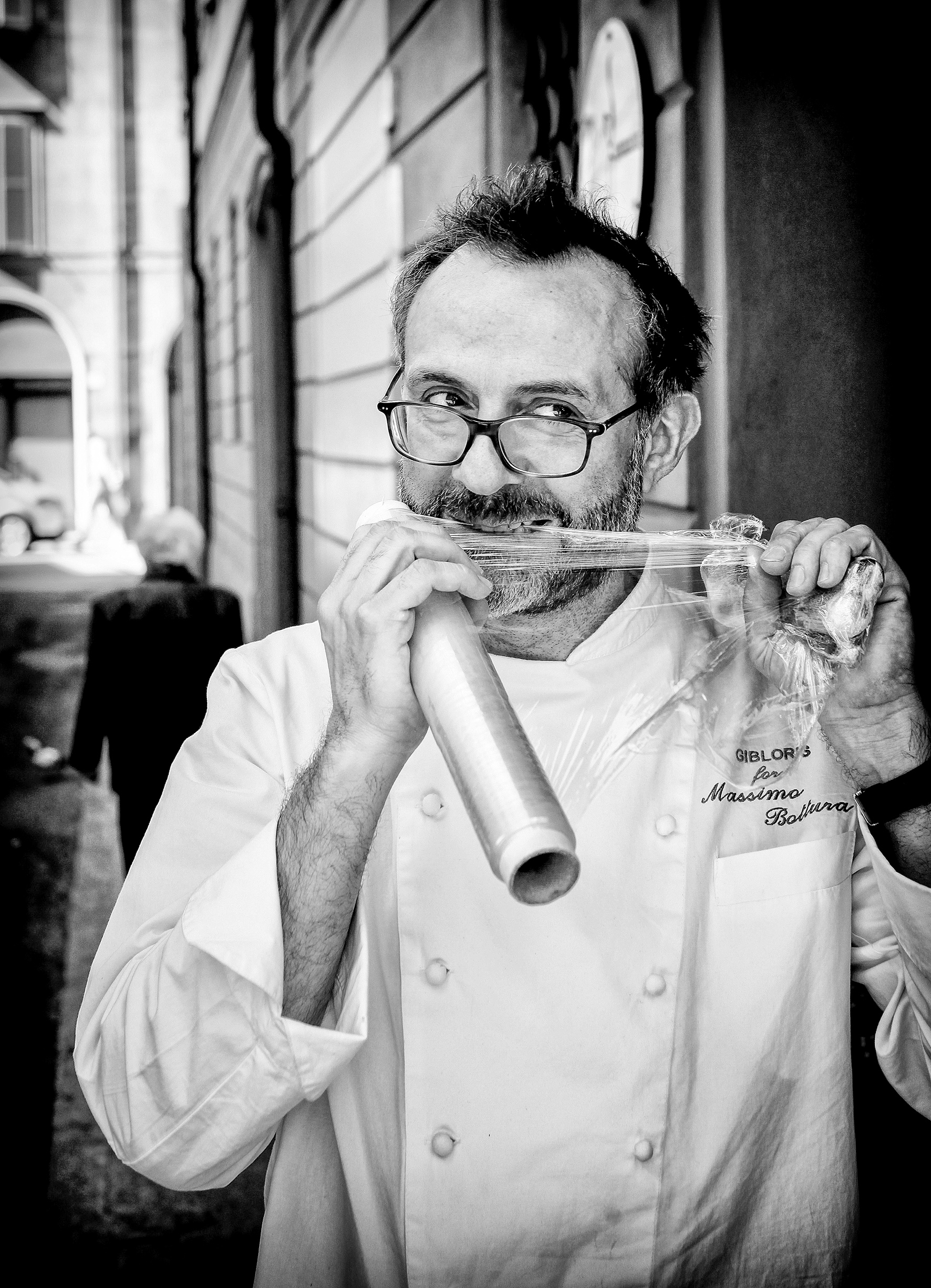 Chef Portraits | Massimo Bottura, three Michelin star chef and owner of the restaurant Osteria Francescana | Modena, Italy 2012