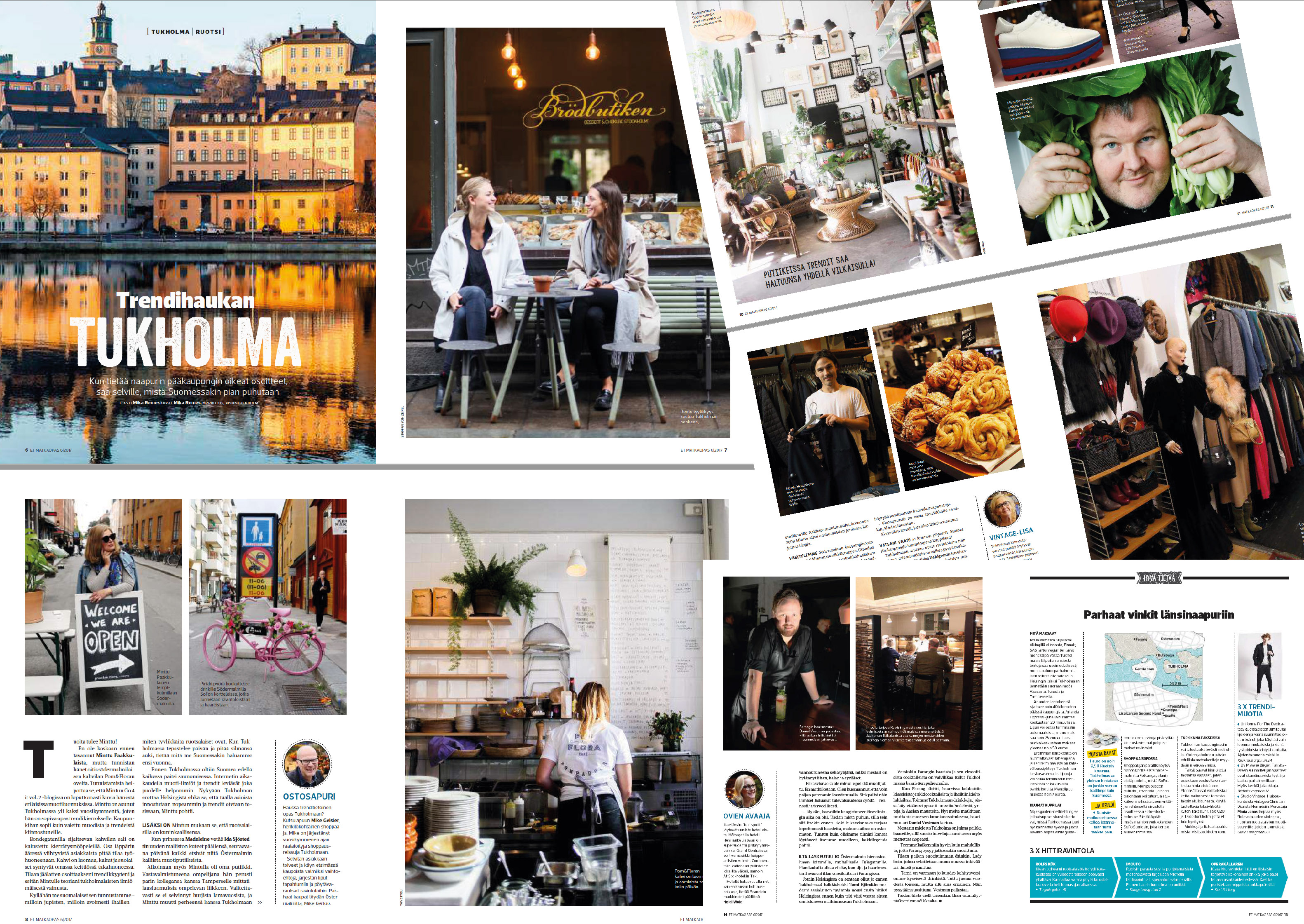 Matkaopas-magazine 2017 | Travel feature | Trendy Stockholm
