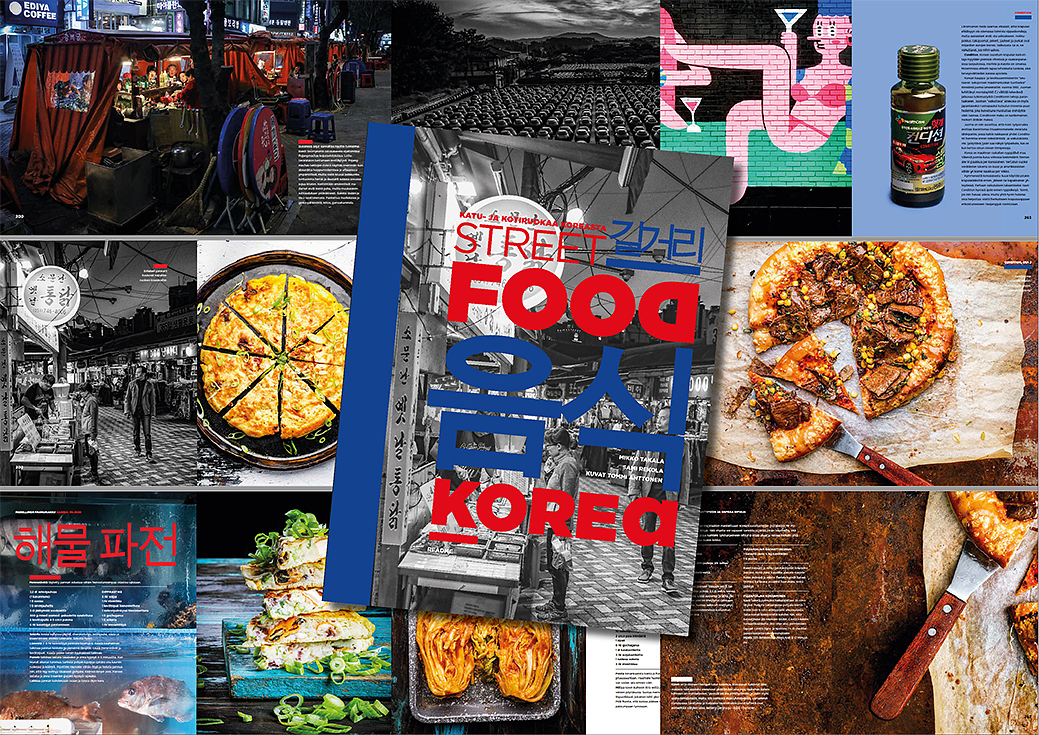 Street Food Korea -book | Readme.fi 2018