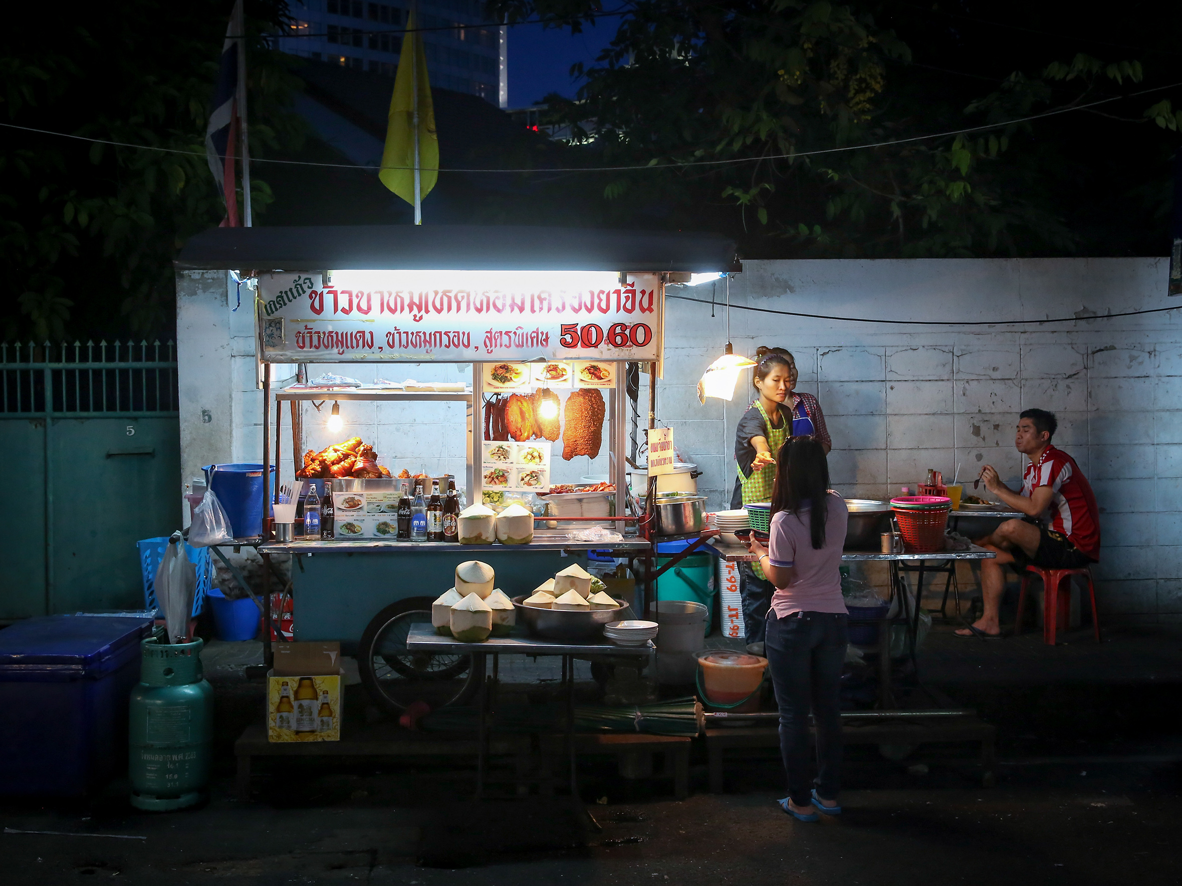 Street Food 2015 | Illustrations | Thong Lo -market | Bangkok 2014