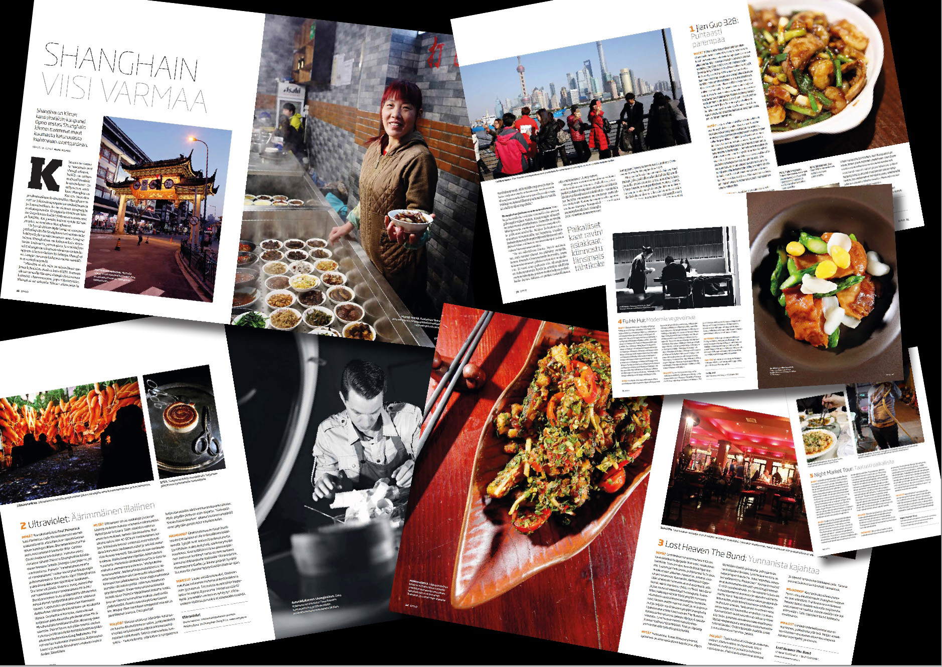 Optio-magazine | Restaurant feature | Shanghai | April 2017